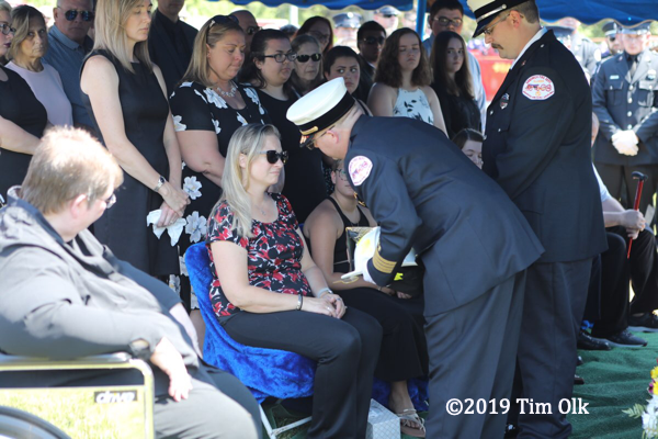 Funeral for former Sandwich FPD Fire Chief Jason Prus