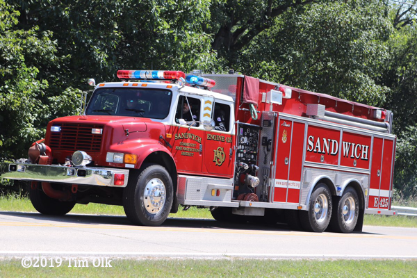 Sandwich FPD water tender