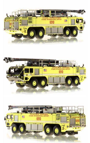 Fire Replicas model of Chicago FD ARFF 6510 at O'Hare Airport - Oshkosh Striker 8x8