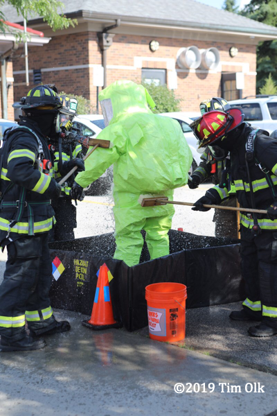 hazardous materials incident