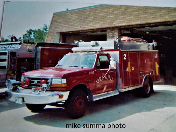 1992 Ford/Darley mini rescue squad