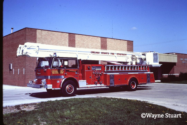 classic Chicago Heights FD 85' Snorkel