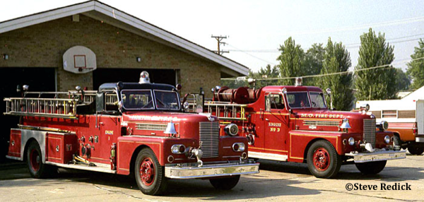 classic Peter Pirsch fire engines