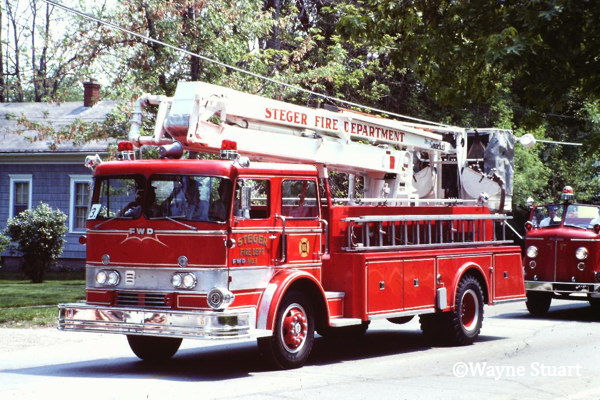 classic FWD 55' Snorkel from the Steger FD