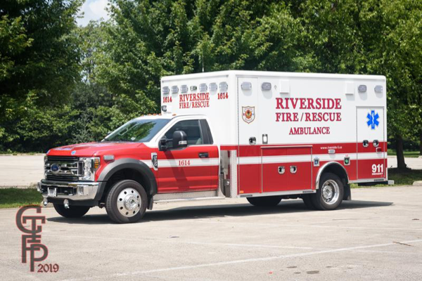 2018 Ford F-550/Horton Type I Ambulance