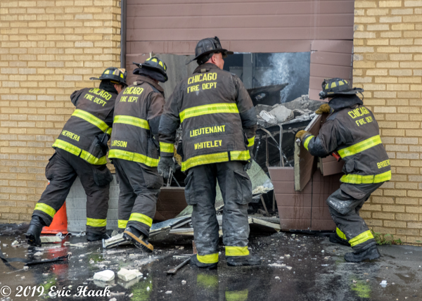 Chicago Firefighters PPE