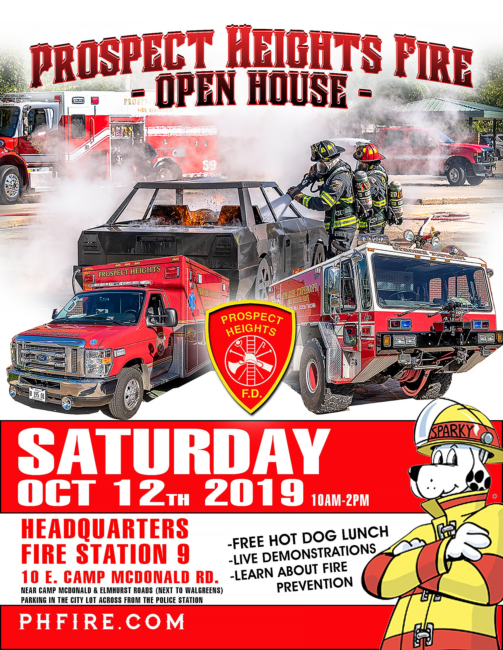 Prospect Heights FPD 2019 Open House