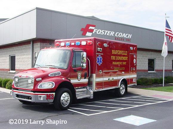 Freightliner Horton Type 1 ambulance