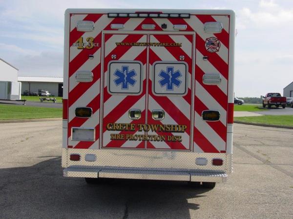 Crete Township FPD Ambulance 43