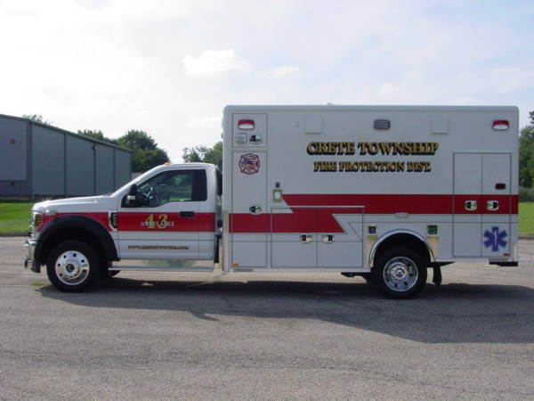 Ford F550 Horton Type I ambulance