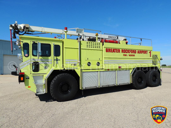 Oshkosh TI3000 ARFF with Snozzle
