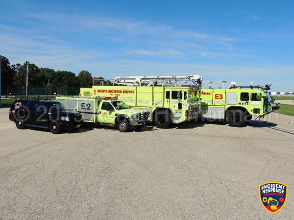 Oshkosh ARFF trucks