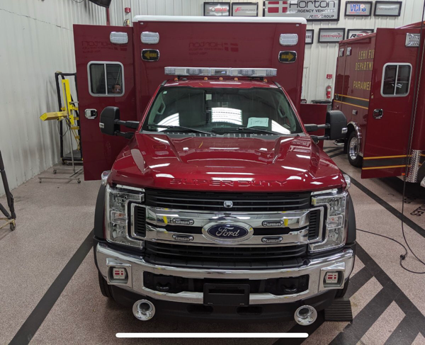 new ambulance for the Westmont FD