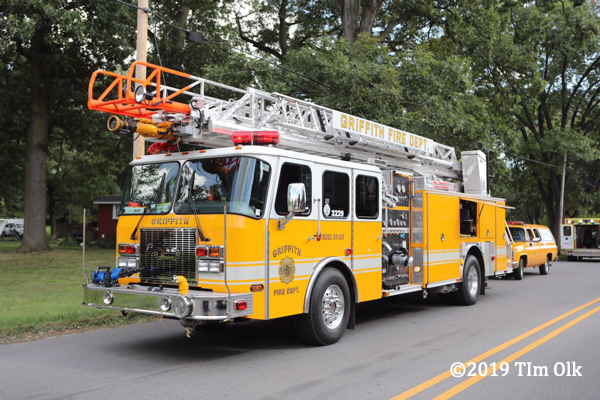 2-Alarm fire in Griffith IN 9/7/19