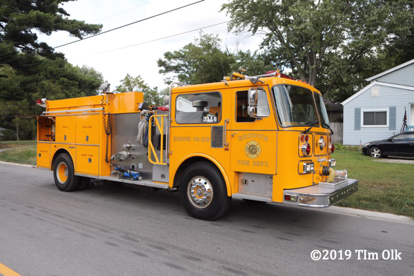 Griffith fire engine