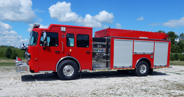 Spartan Metro Star fire engine chassis