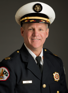 Glenview Fire Chief Ralph Ensign