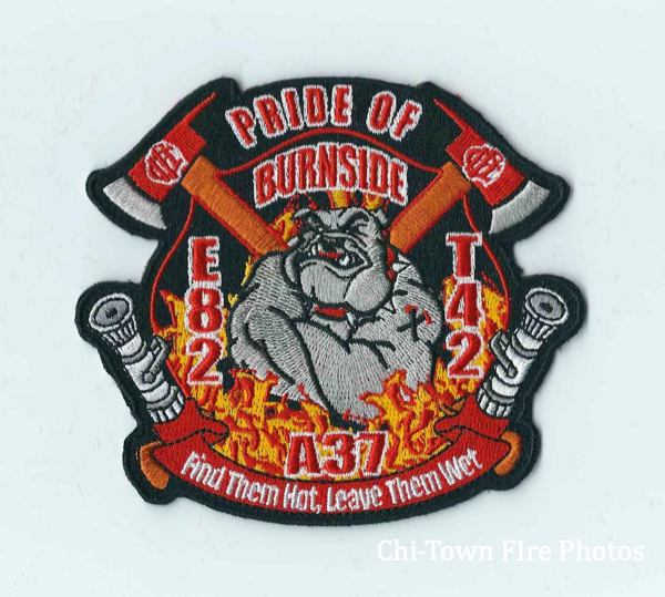 Chicago FD company patch