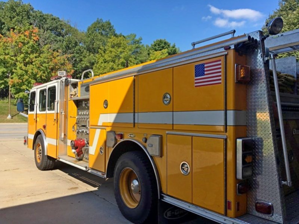 former Lisle-Woodridge FPD fire engine for sale