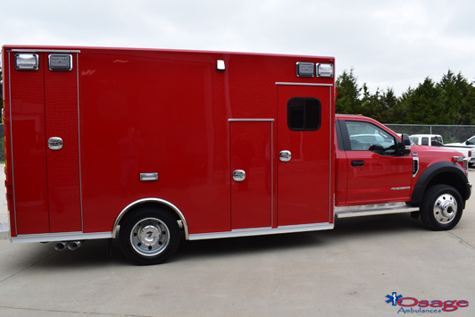 Type I Super Warrior F550 ambulance