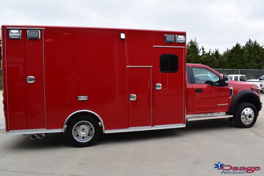 Type I Super Warrior F550 ambulance