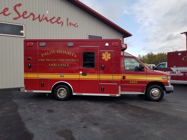 New ambulance for t he Palos FPD