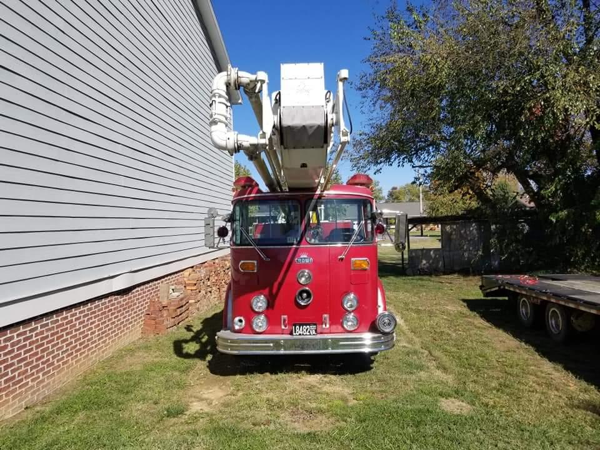 vintage fire truck for sale