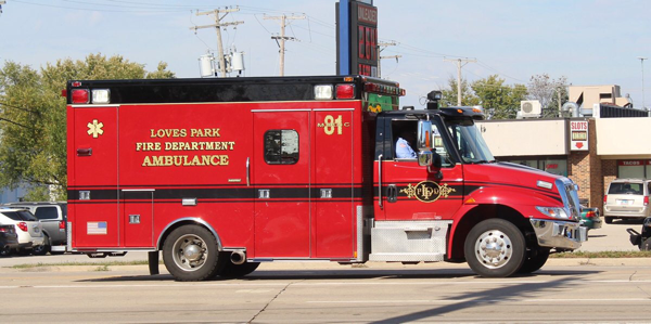 former Downers Grove FD ambulance