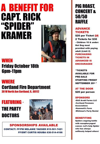 benefit for firefighter