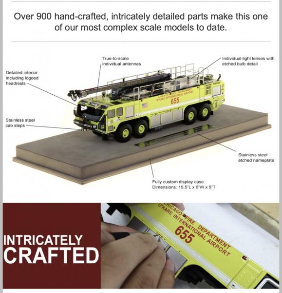 Fire Replicas Striker 8x8 model
