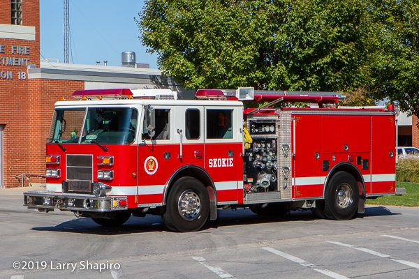 2000 Pierce Saber fire engine