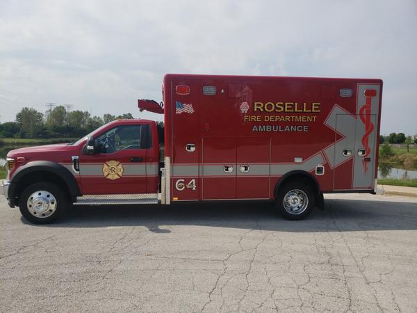 Roselle FD Medic 64