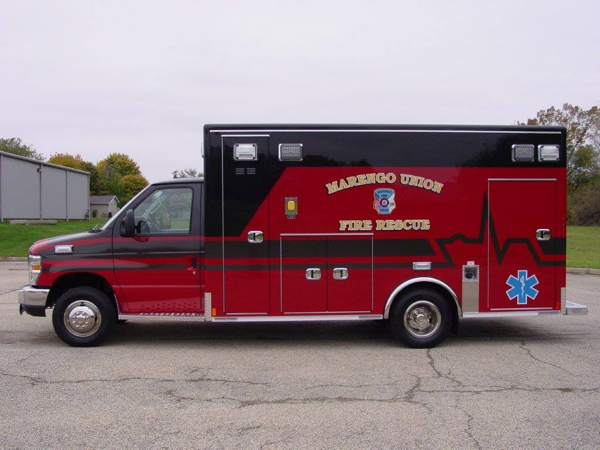 Medix Type III ambulance on Ford E450 chassis