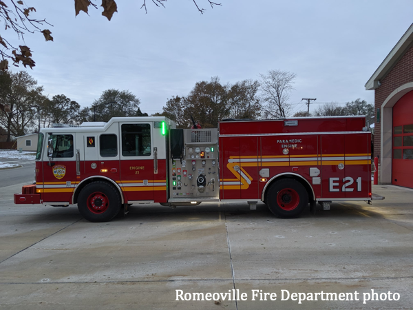 Romeoville FD Engine 21