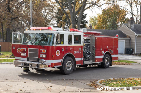 loaner fire engine in Skokie IL