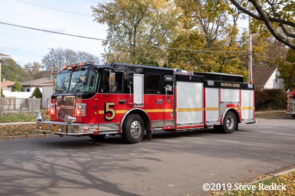 Spartan Smeal fire engine