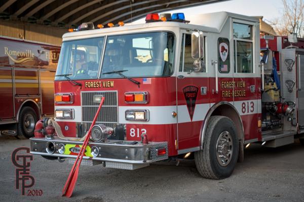 Pierce Saber fire engine