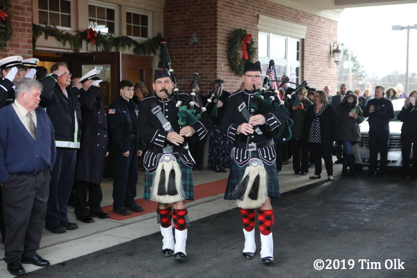fire department bagpipers