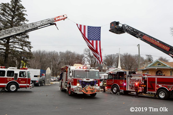 fire department funeral