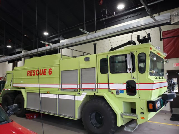 New Lenox FPD 1993 Oshkosh T-3000 ARFF for sale