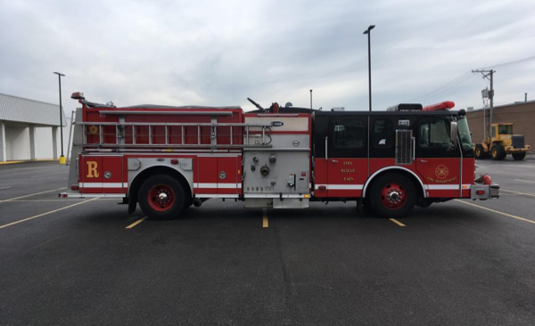 2000 E-ONE Hurricane pumper for sale
