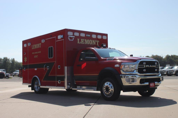 Type I ambulance on RAM 5500 chassis