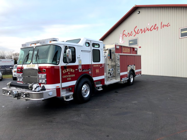 2019 E-ONE Typhoon top-mount pumper