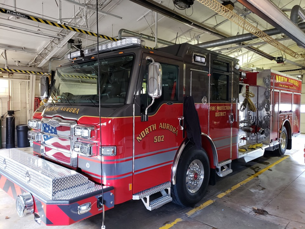 2019 Pierce Impel fire engine