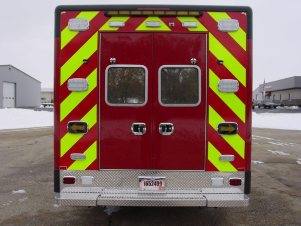 new Winnetka FD ambulance