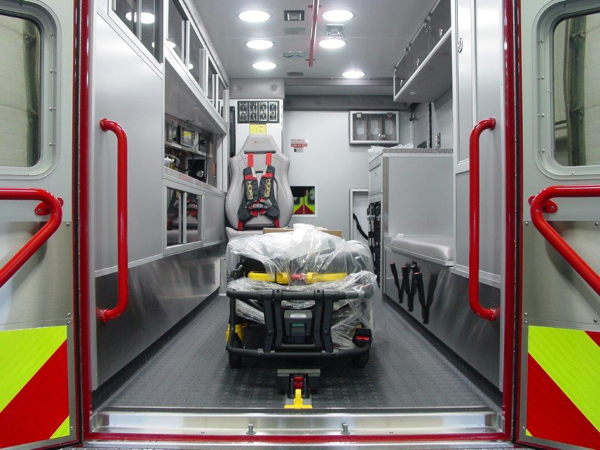 Mundelein Fire Department ambulance