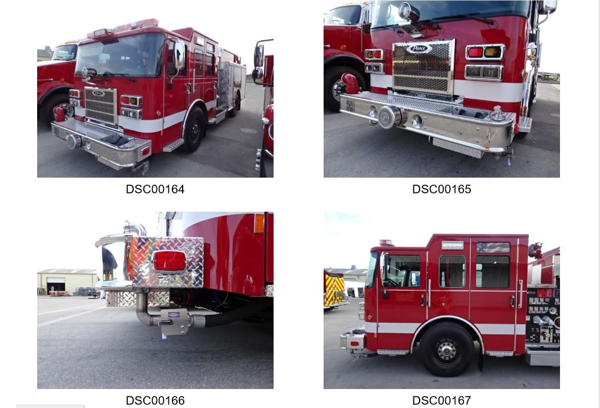 Summit FD fire engine