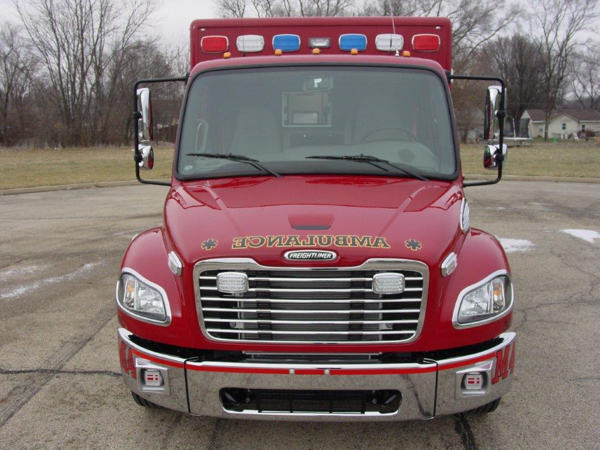 Freightliner Business Class ambulance chassis