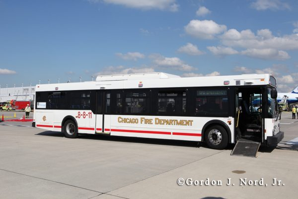 Chicago FD Bus 8-8-11