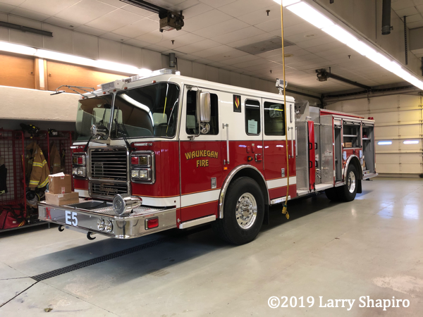 new Seagrave engine in Waukegan IL